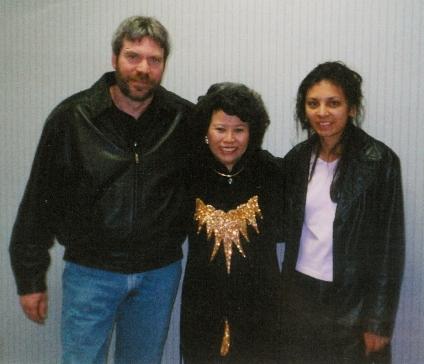 Steve, Le Ly, & I